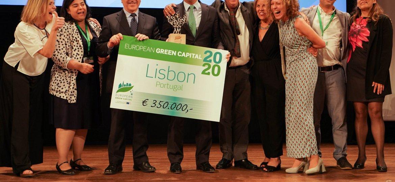 Lisbona vince il premio Capitale Verde Europea 2020