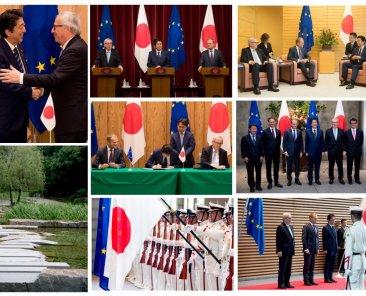 Il presidente Juncker al 25° vertice UE-Giappone